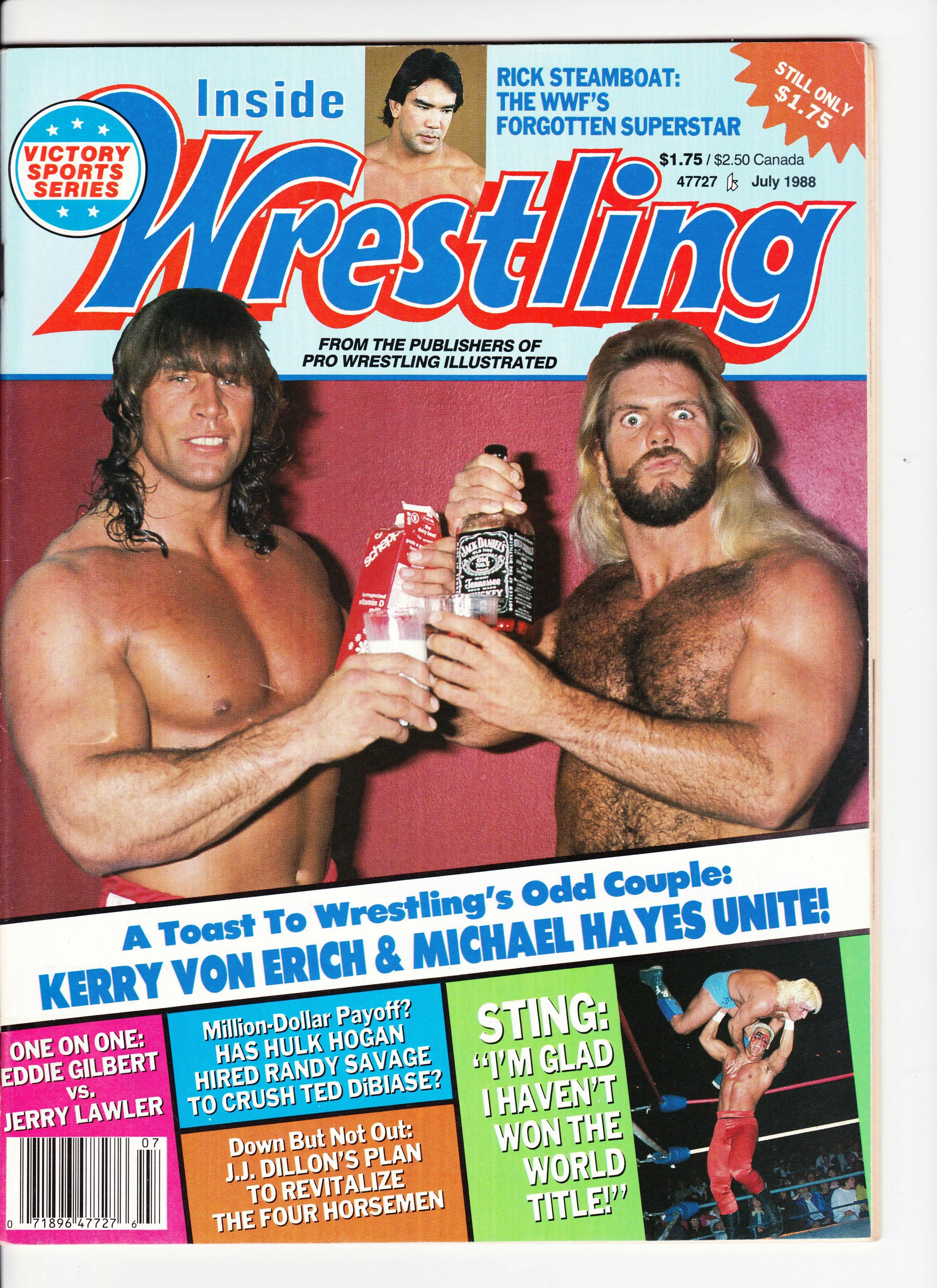 Inside Wrestling - July 1988