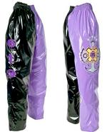 Rey Mysterio Black & Purple Youth Replica Pants
