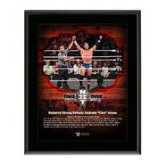 Roderick Strong NXT TakeOver San Antonio 10 x 13 Commemorative Photo Plaque