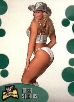 2001 WWF The Ultimate Diva Collection (Fleer) Trish Stratus (No.22)
