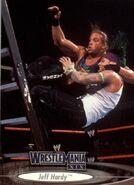 2003 WWE WrestleMania XIX (Fleer) Jeff Hardy 27