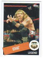 2015 WWE Heritage Wrestling Cards (Topps) Edge 15