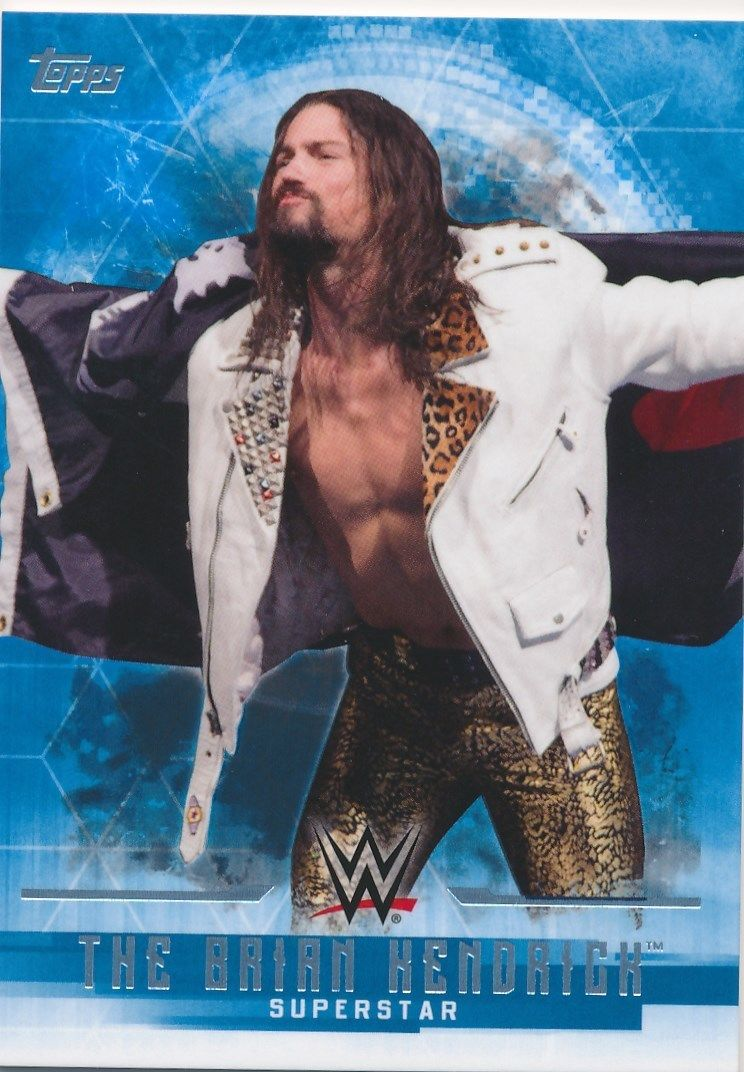 2017 WWE Undisputed Wrestling Cards (Topps) The Brian Kendrick (No.5)