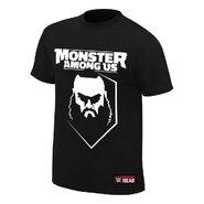 Braun Strowman Monster Among Us Authentic T-Shirt