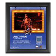 Edge SummerSlam 2021 15x17 Commemorative Plaque