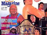 WWF Magazine - June 1987