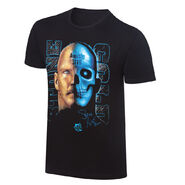 Stone Cold Steve Austin Face-Skull Retro T-Shirt