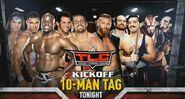 TLC 2016 10 Man Tag Match
