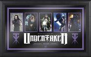 Undertaker Evolution of a Superstar Plaque