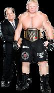 Brock Lesnar Paul Heyman 20August2014
