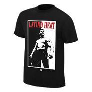 Eddie Guerrero Addicted to the Heat Retro T-Shirt
