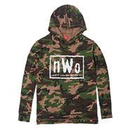 NWo Camo Sportiqe Pullover Hoodie Sweatshirt