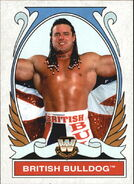 2008 WWE Heritage IV Trading Cards (Topps) British Bulldog 83