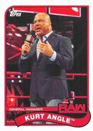 2018 WWE Heritage Wrestling Cards (Topps) Kurt Angle 42