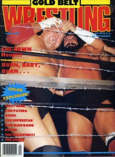 Gold Belt Wrestling - April 1988