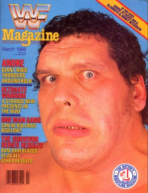 WWF Magazine - March 1988