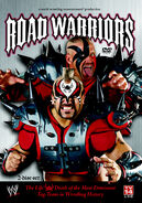 Road Warriors - The Life & Death of the Most Dominant Tag Team In Wrestling History DVD cover