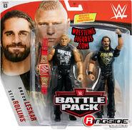 WWE Battle Packs 63 Seth Rollins & Brock Lesnar