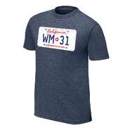 WrestleMania 31 License Plate T-Shirt