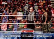 2018 WWE Road to Wrestlemania Trading Cards (Topps) The New Day 94
