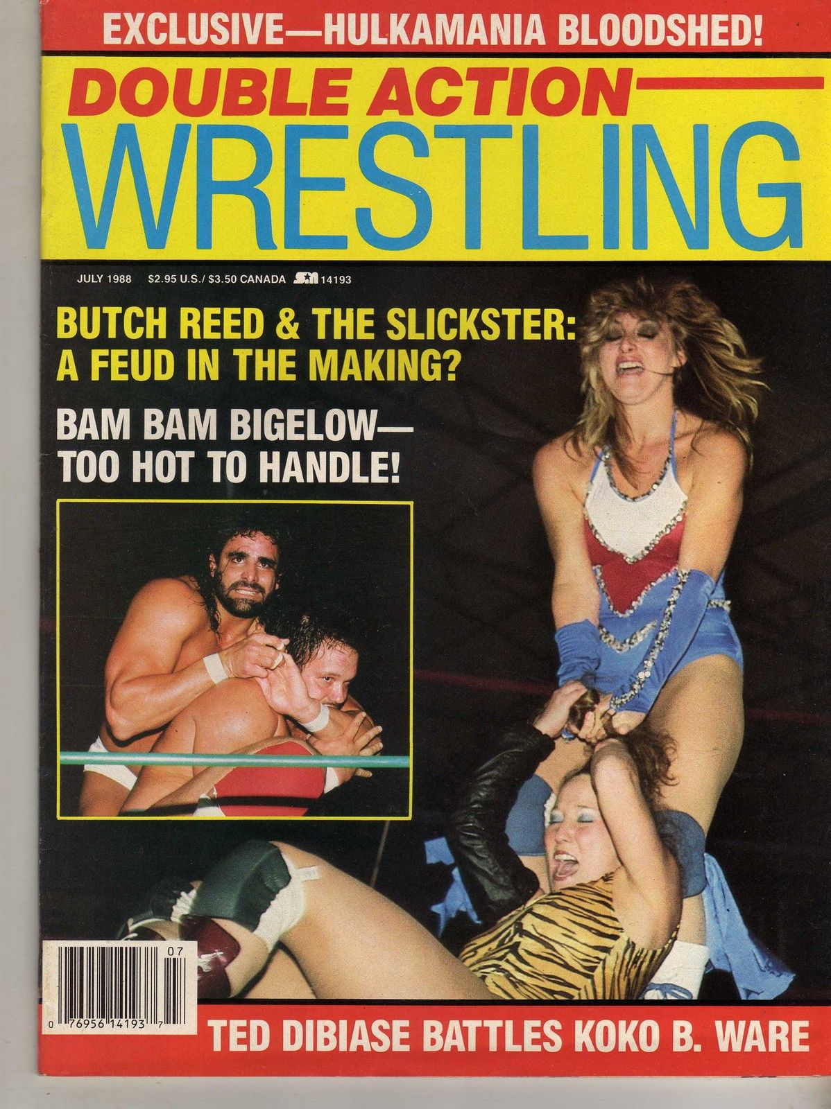 Double Action Wrestling - July 1988