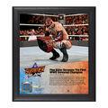 Finn Bálor SummerSlam 2016 15 x 17 Framed Plaque w Ring Canvas