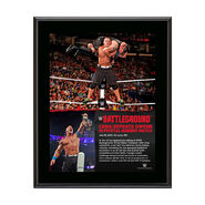 John Cena Battleground 10.5 x 13 Photo Collage Plaque