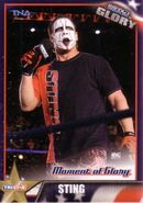 2013 TNA Impact Glory Wrestling Cards (Tristar) Sting 18