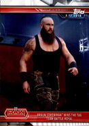 2019 WWE Road to WrestleMania Trading Cards (Topps) Braun Strowman 32