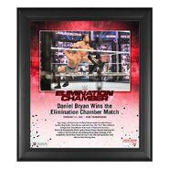 Daniel Bryan Elimination Chamber 2021 15x17 Commemorative Plaque