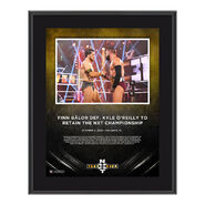 Finn Balor NXT Takeover 31 10 x 13 Commemorative Plaque