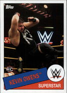 2015 WWE Heritage Wrestling Cards (Topps) Kevin Owens 107