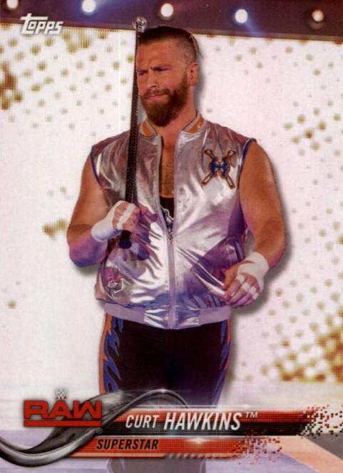 2018 WWE Wrestling Cards (Topps) Curt Hawkins (No.26)