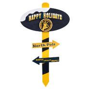 John Cena Happy Holidays North Pole Sign