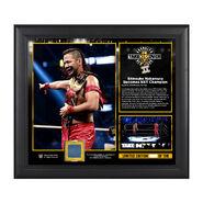 NXT Takeover Brooklyn II Shinsuke Nakamura 15 x 17 Framed Plaque w Ring Canvas