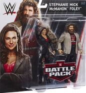 WWE Battle Packs 49 Mick Foley & Stephanie McMahon