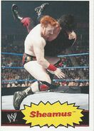 2012 WWE Heritage Trading Cards Sheamus 36