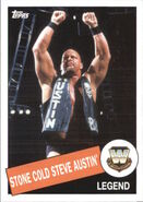 2015 WWE Heritage Wrestling Cards (Topps) Stone Cold Steve Austin 44