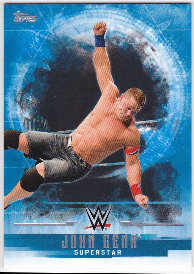 2017 WWE Undisputed Wrestling Cards (Topps) John Cena (No.1)