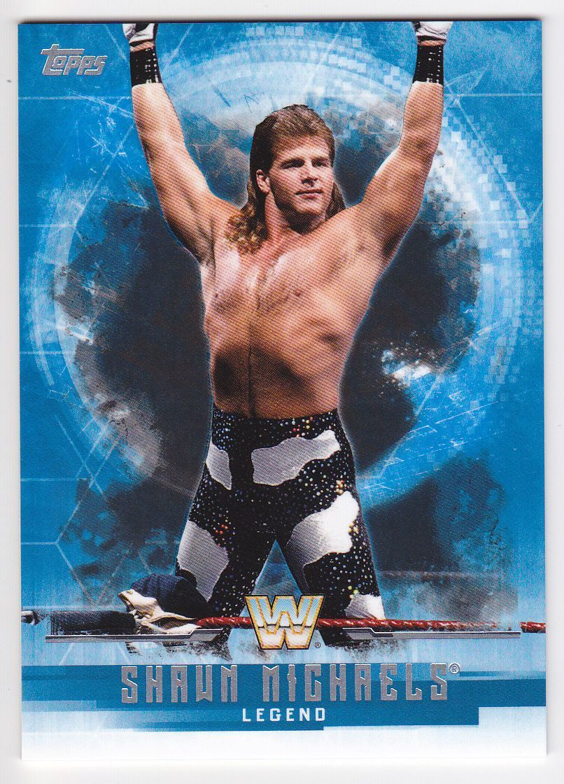 2017 WWE Undisputed Wrestling Cards (Topps) Shawn Michaels (No.67)