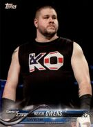 2018 WWE Wrestling Cards (Topps) Kevin Owens 47