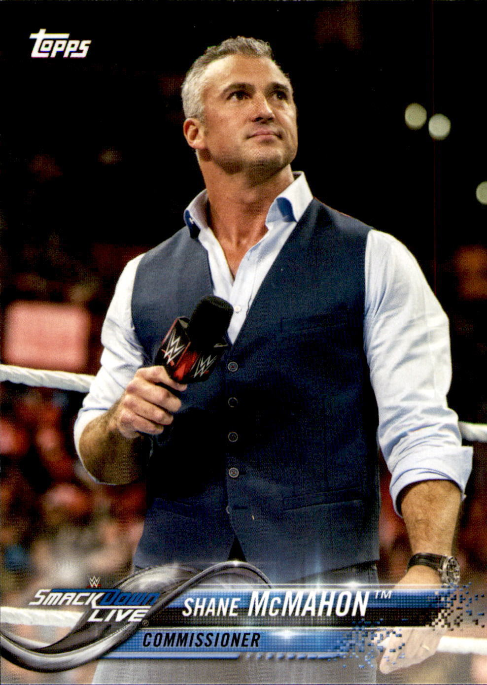 2018 WWE Wrestling Cards (Topps) Shane McMahon (No.82)