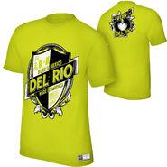 Alberto Del Rio Viva Del Rio Authentic T-Shirt