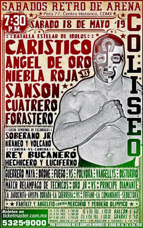CMLL Sabados De Coliseo (May 18, 2019)