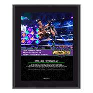 Cedric Alexander WrestleMania 34 10 x 13 Photo Plaque