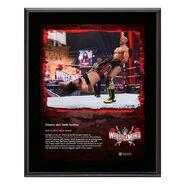 Cesaro WrestleMania 37 10x13 Commemorative Plaque