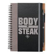 Heavy Machinery Body By Steak Notebook & Pen