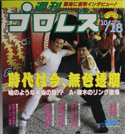 Weekly Pro Wrestling No. 280