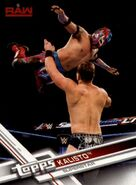 2017 WWE (Topps) Then, Now, Forever Kalisto 125