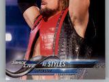 2018 WWE Wrestling Cards (Topps) AJ Styles (No.2)